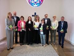 Der neue Kirchenvorstand der Martinskirchengemeinde Essern©Kirchengemeinde Essern (Martinskirche)